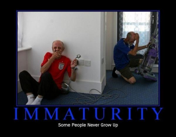 immaturity-demotivational-poster